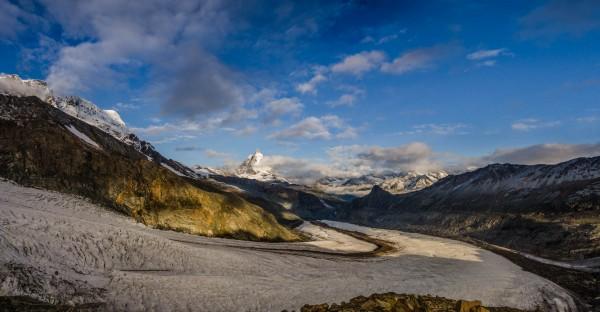 Matterhorn und Gornergletscher