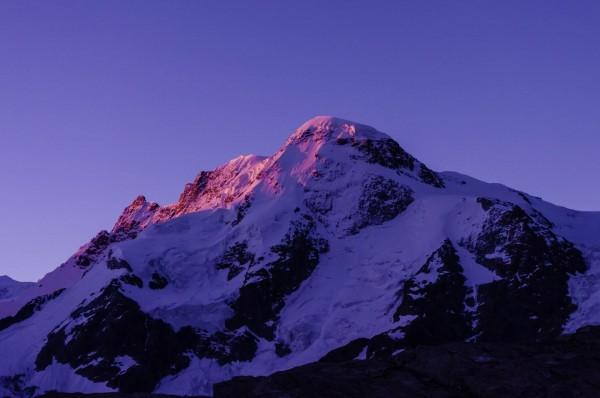 Breithorn Morgenstimmung