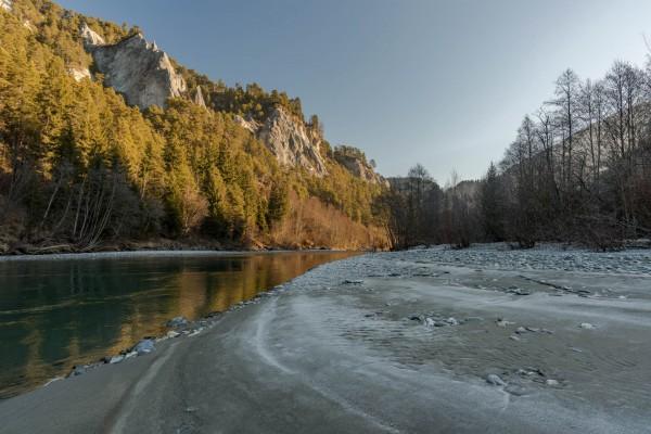 Ruinalta - Rheinschlucht - Winter