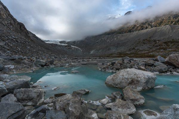 Gletschersee im Val Morteratsch