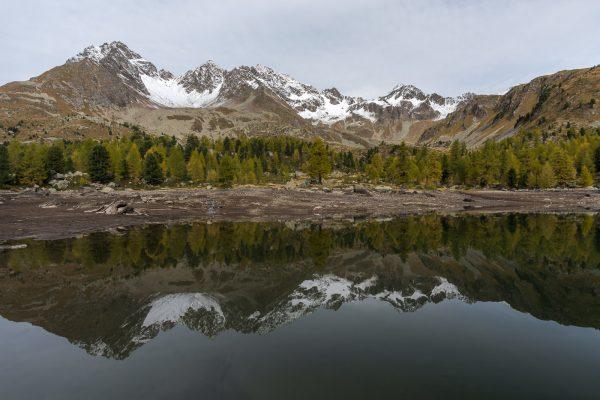 Lagh da Val Viola bei niederigem Wasserstand
