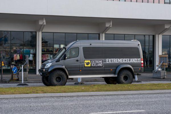 Luxus Hochlandbus
