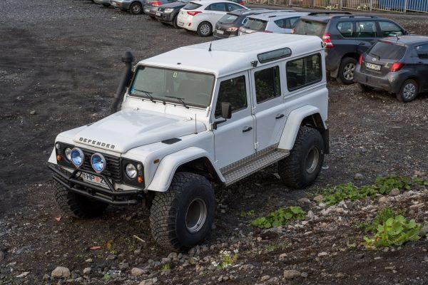 Isländischer Land Rover