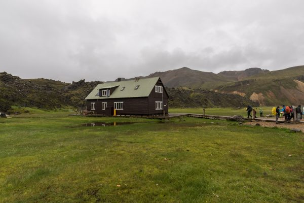 Hütte in Landmannalaugar