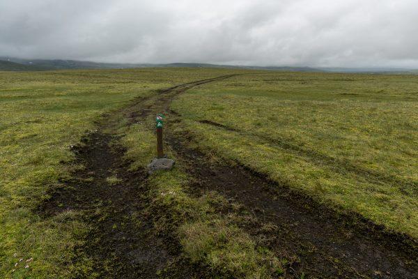 Of Road Spur wird im Isländischen Hochland schnell zur Illegalen Piste
