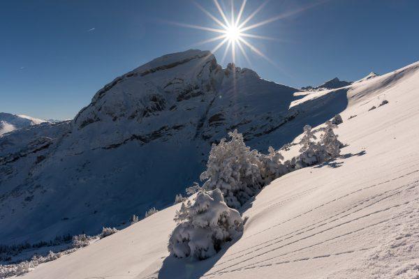 Erster Schnee auf dem Margelchopf