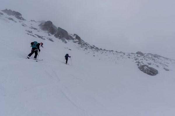 Aufstieg zur Fuorcla dal Cunfin