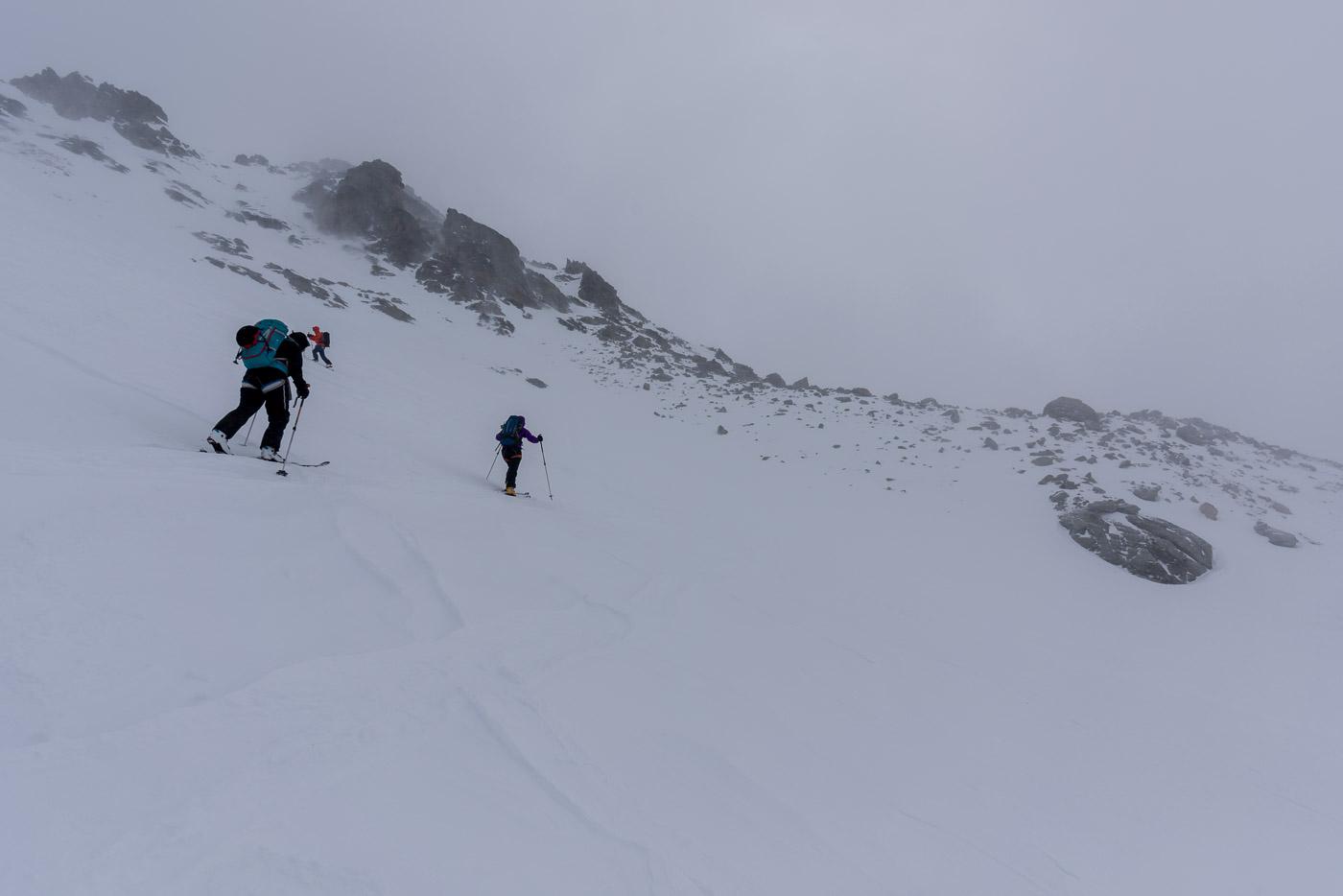 Aufstieg Richtung Fuorcla dal Cunfin