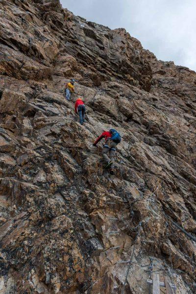 Klettersteig Piz Trovat