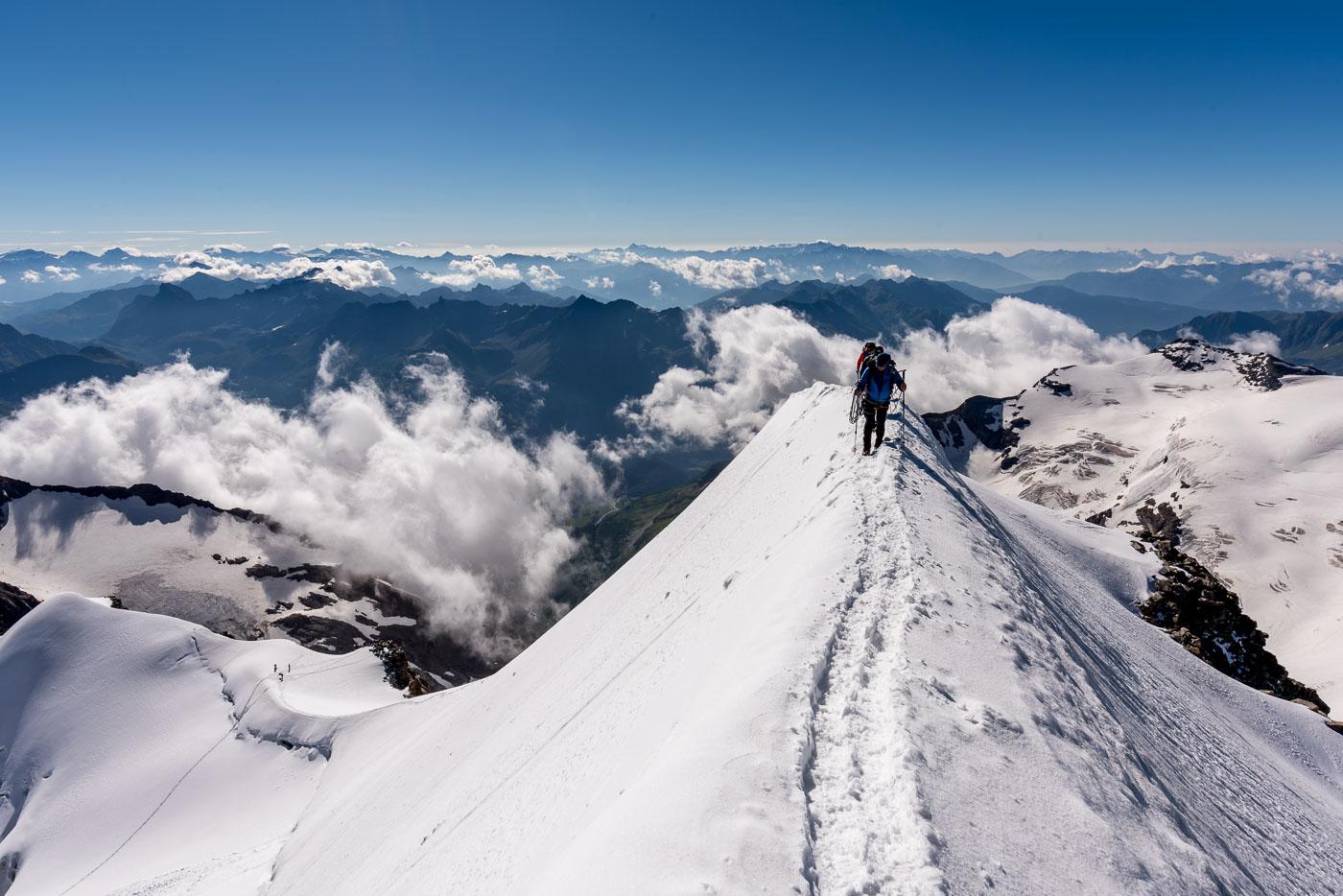 Piz Palü Gipfelgrat