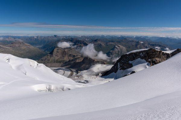 Abstieg über den Vadret Pers