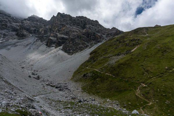 Aufstieg Richtung Tabaretta