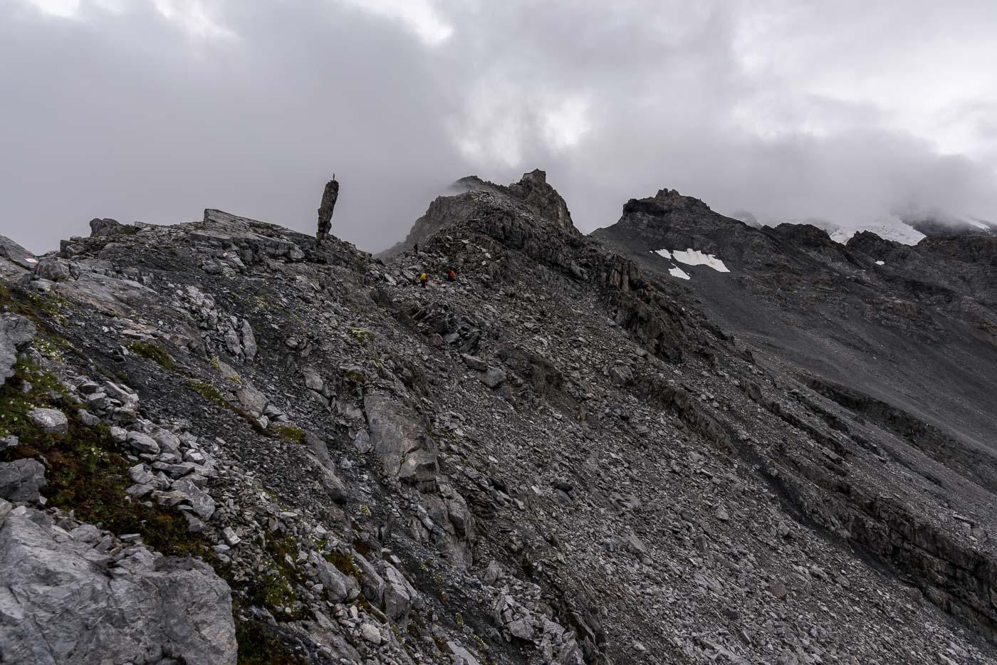 Zustieg zur Payerhütte