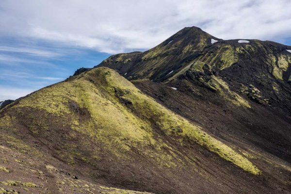Sicht auf den Gipfel