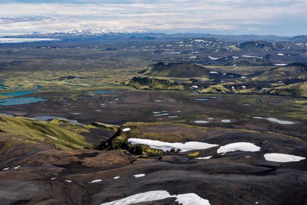 Blick Richtung Vatnajökull