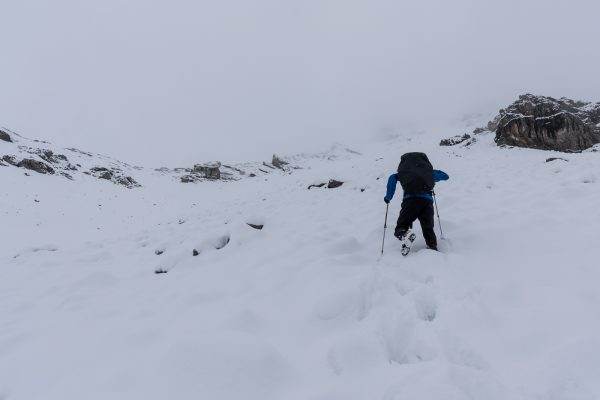 Aufstieg zur Fuorcla Val Sassa