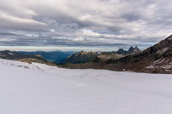 Silvrettagletscher vom Pass