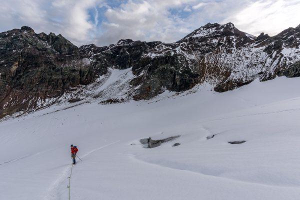 Aufstieg zum Silvrettapass