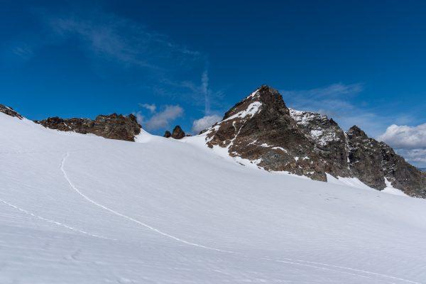 Aufsteig zum Silvrettahorn