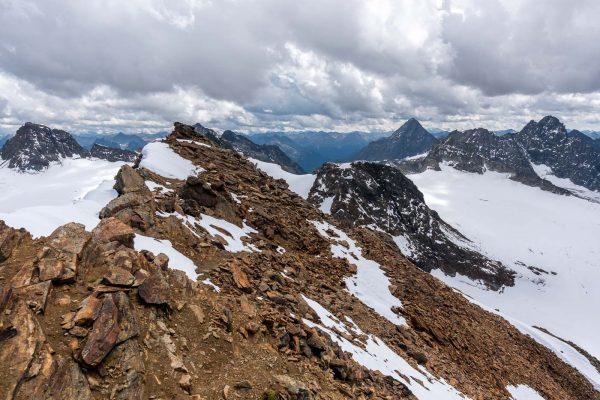 Abstieg vom Silvrettahorn
