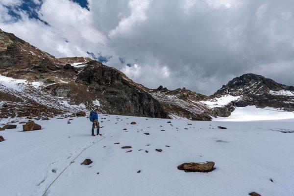 Retour über den Gletscher