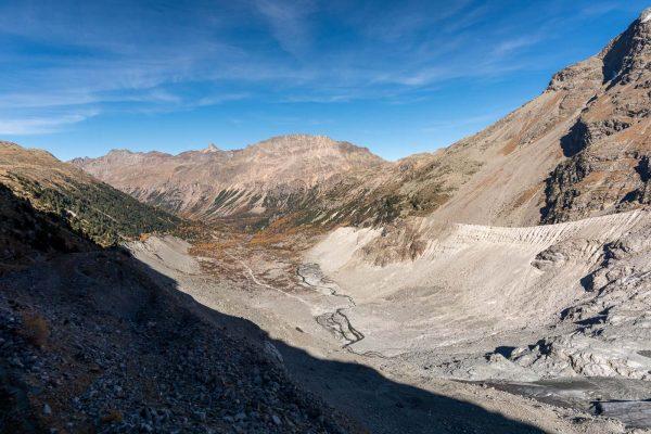 Morteratsch ehemals Gletscher