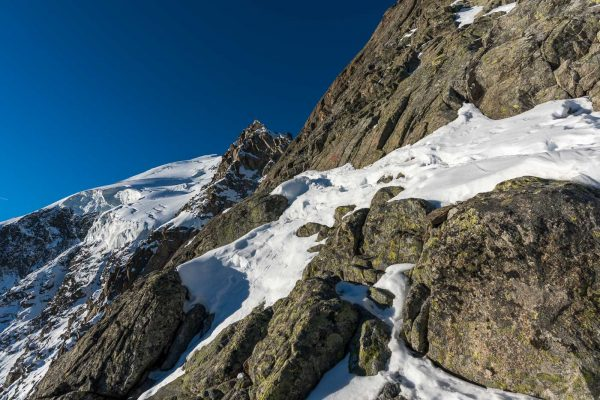 Klettern zur Fuorcla da Boval