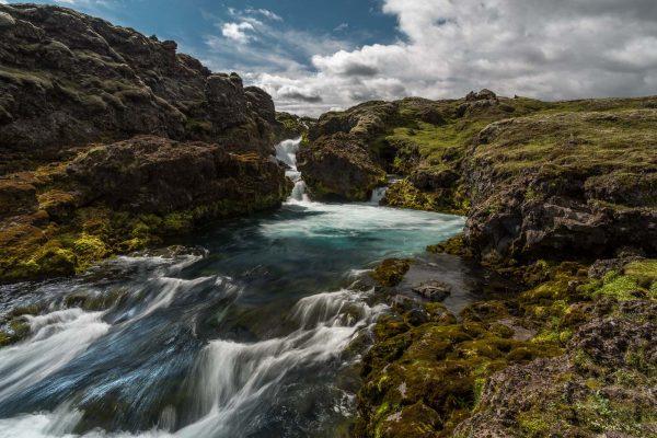 Verborgener Wasserfall