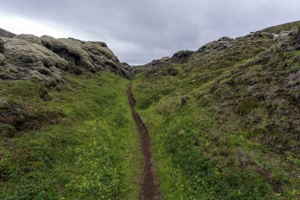 Eindeutiger Wanderweg
