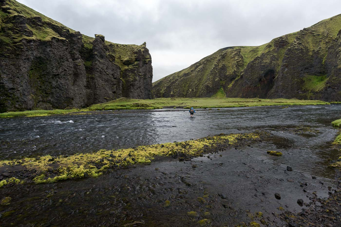 Furt durch den Syðri-Ófæra