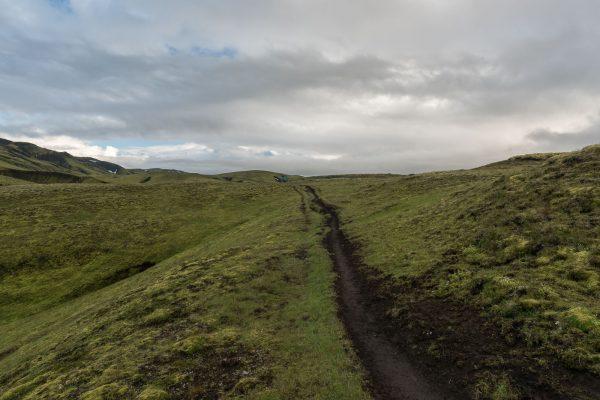 Wanderweg nach Álftavötn