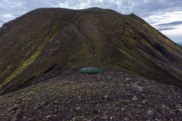 Zeltplatz unterhalb vom Sveinstindur