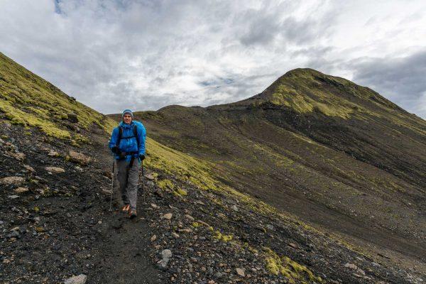 Abstieg vom Sveinstindur