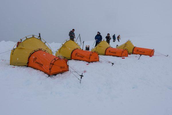 Polarmond Zeltlager