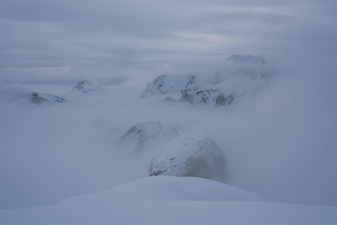 Blick Richtung Alvierkette