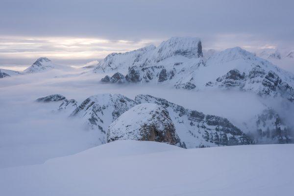 Nebelmeer über dem Ischlawitz