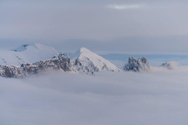 Mutschen über dem Nebelmeer