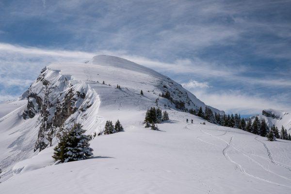 Noch 500 Höhenmeter zum Gipfel
