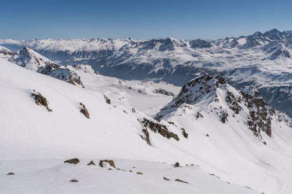 Blick Richtung St. Moritz