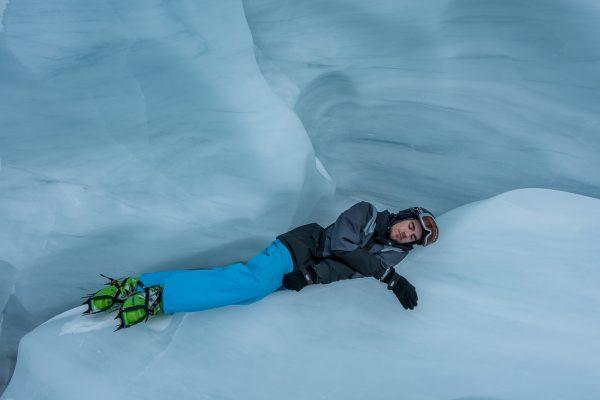 Schlafen im Eis