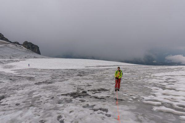 Gletscherüberquaerung