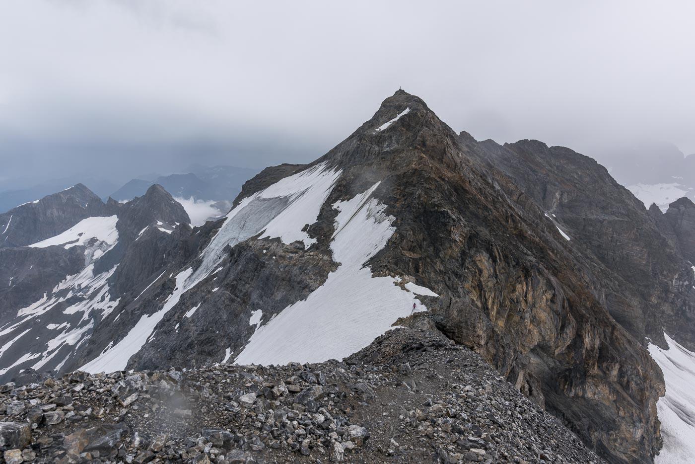 Grat zum Clariden 3'267 m ü. M.
