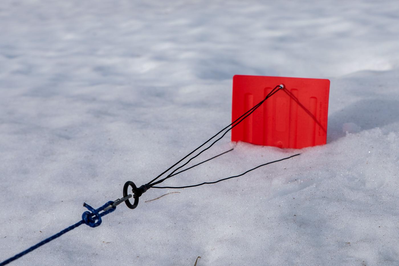 «Snow and Sand Anchor» von SwissPiranha