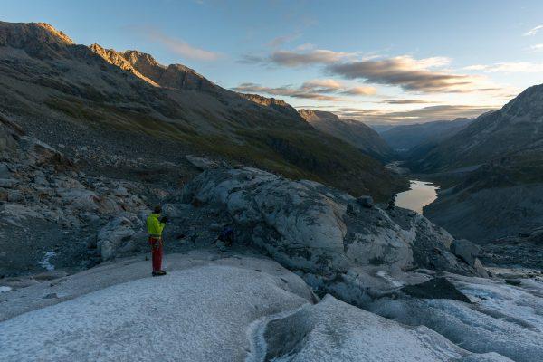 Bereit für den Gletscher