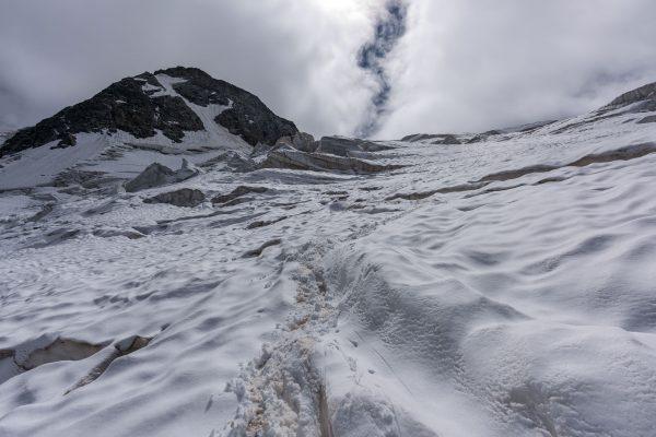 Wir lassen das Gletscherlabyrinth hinter uns