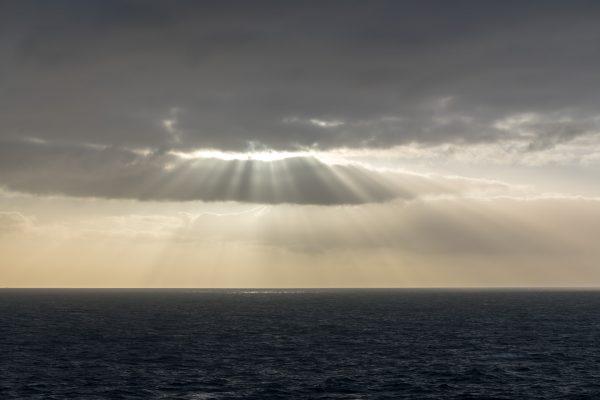Seltene Augenblicke der Sonne