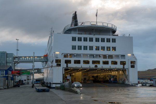 Autoverlad in Tórshavn