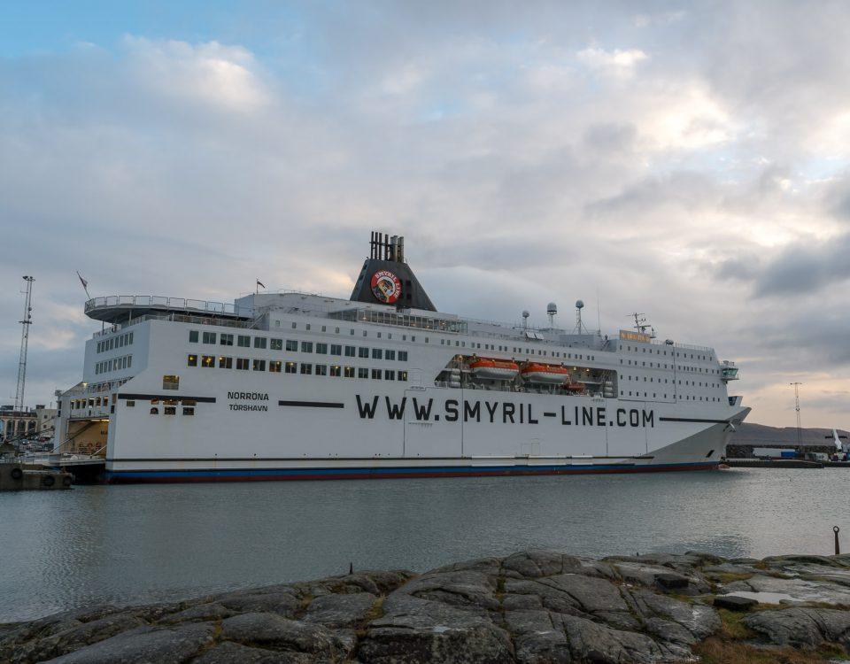 Smyril Line in Tórshavn