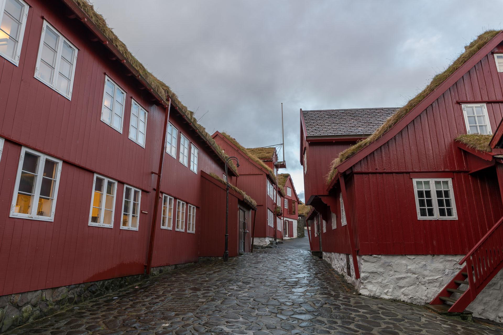 Regierungsviertel in Tórshavn