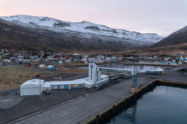 Smyril Line Terminal in Seyðisfjörður